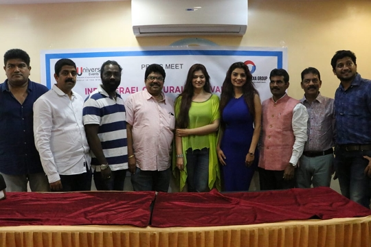 Press Conference Held In Mumbai In The Presence Of Gandi Baat  Fame Anveshi Jain And Sanju Actress Aditi Gautam