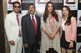 Neha Dhupia Launches Assure Clinic In Ahmedabad