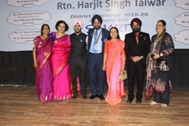 Harjeet Singh Talwar Appointed As Governor Of Institution Of Rotary Club Mumbai District 3141