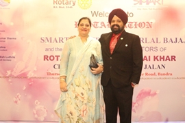 Amarlal Bajaj Appointed As The President of Rotary Club of Mumbai Khar