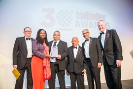 Peter Patel honored with Independent Bakery Retailer Award in the Asian Trader Awards 2019