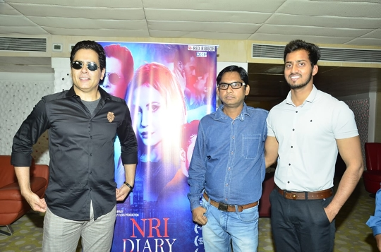 NRI Diary Trailer And Music Unveiled By Actor Aman Verma And Music Director Raj Verma