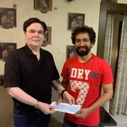 Jubilee star Dinesh Lal Yadav 'Nirhua' and action star Yash Kumar signed by Chandravarsha Entertainment for two films