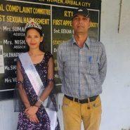 Kavita Sarswal 19 Years Old Girl From Haryana Subtitle Winner Of Miss Teen India Universe