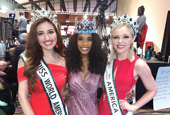 Miss World Queens Toni Singh-Emmy Cuvelier-Shree Saini help raise $4 million for children in need at Variety's Children Charity Telethon